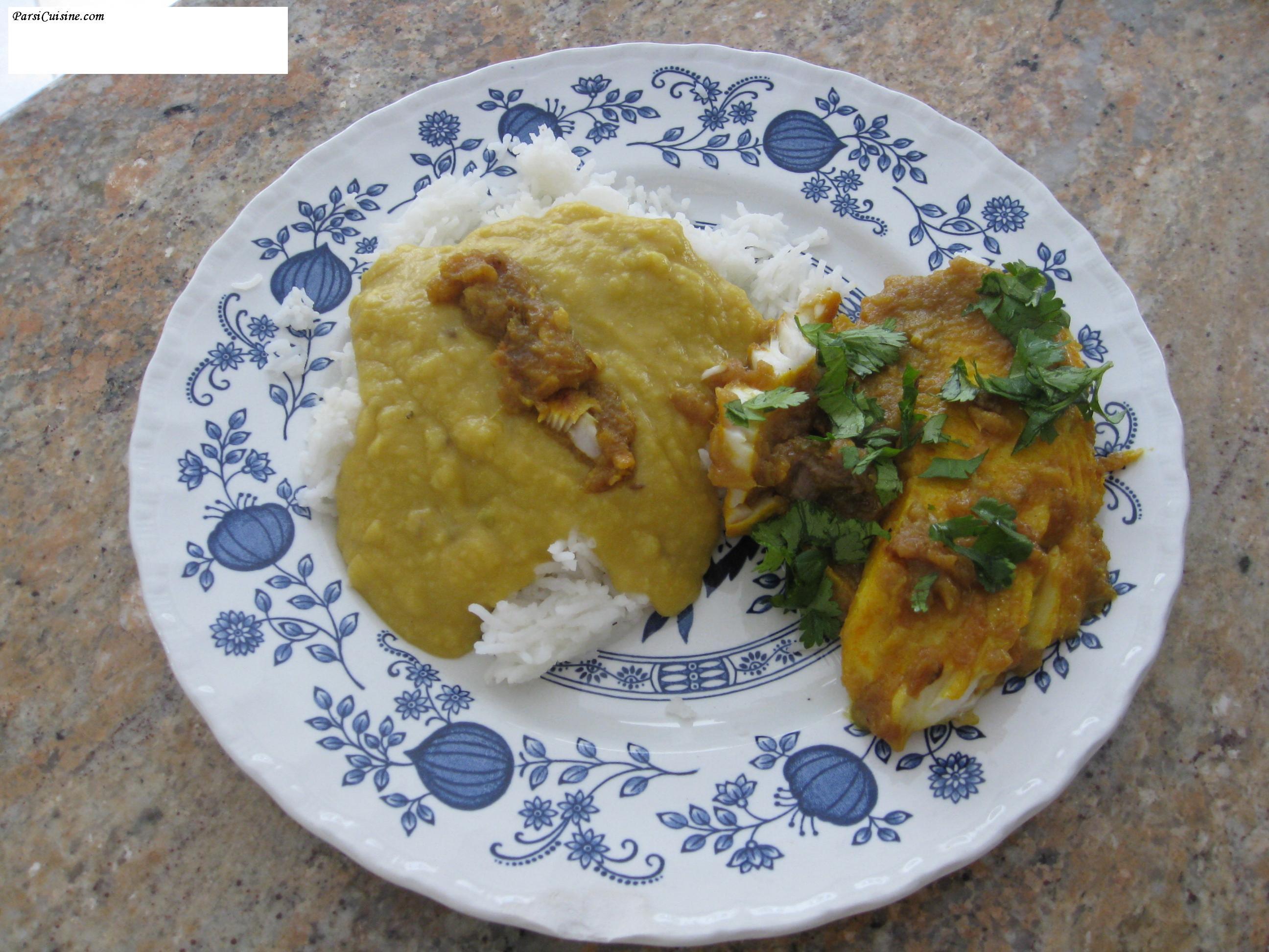 Khari Maachi (served with Mora Dal Chawal / Parsi Dhan Dal ) Recipe 1